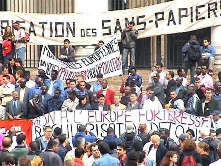 2004 - Marche Europ. des Sans Papiers - Bxl >