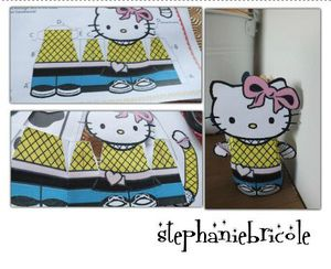 papertoys hello kitty