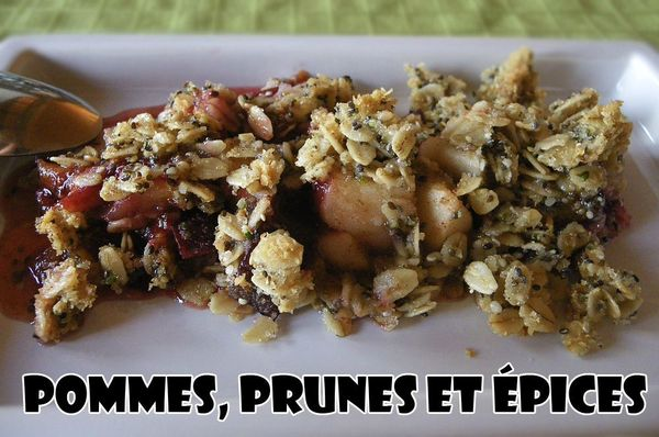 crumble-collation-pommes-prunes-epices