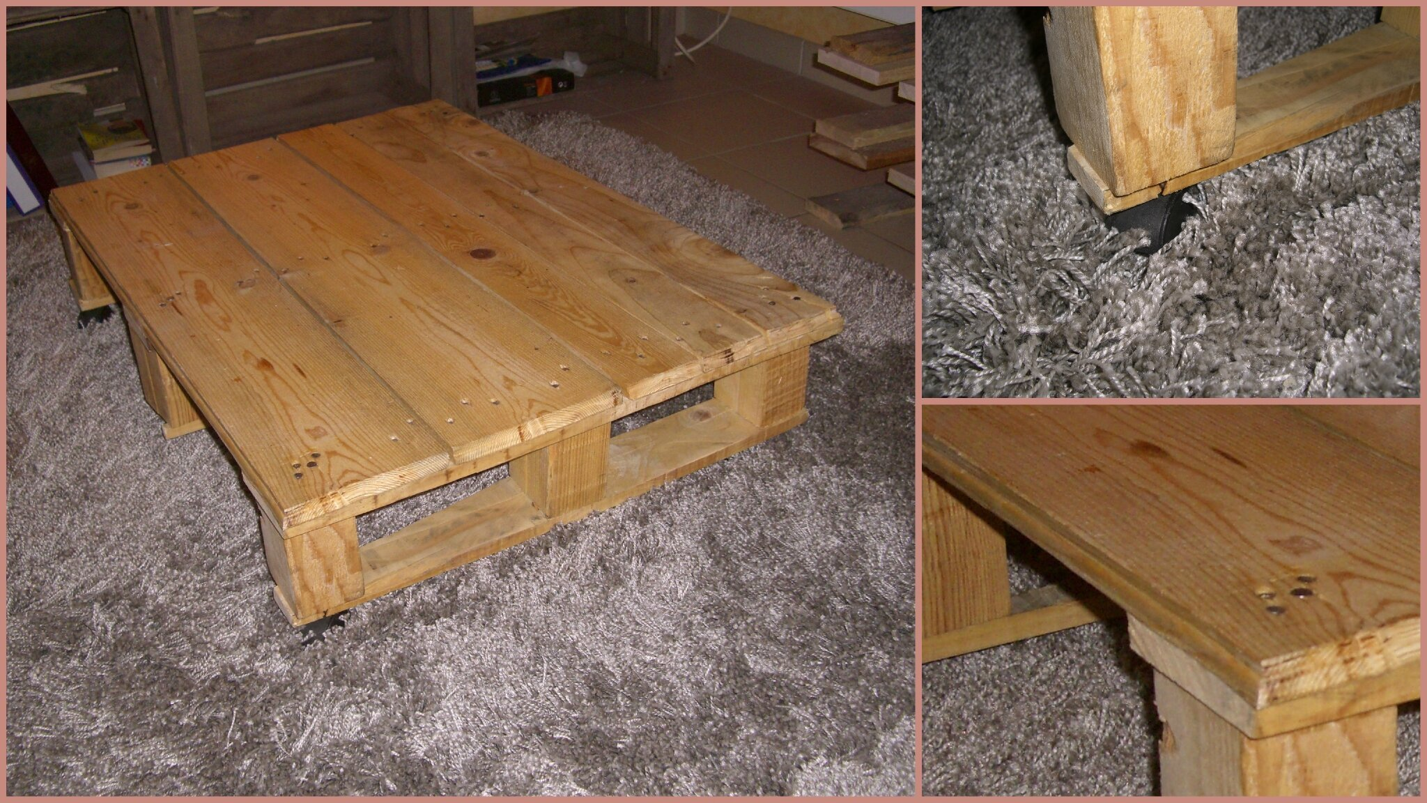 table basse palettes dans la t te de juliette. Black Bedroom Furniture Sets. Home Design Ideas