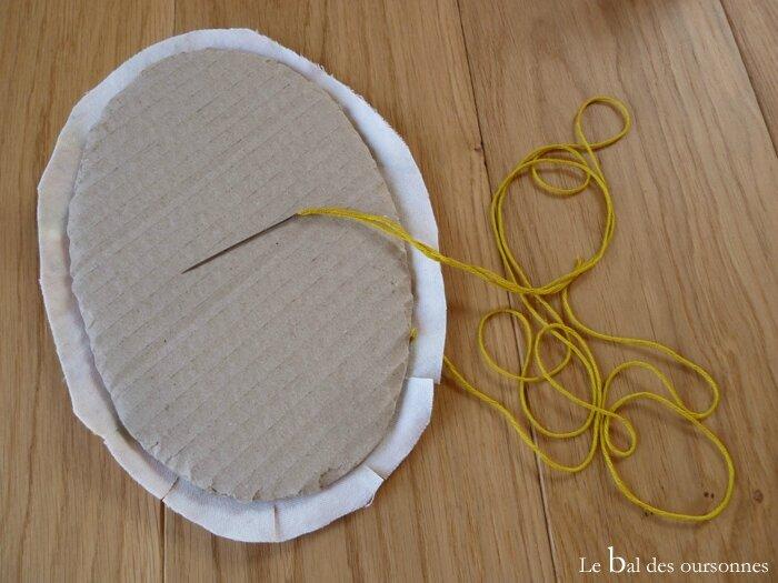 100 Blog Amigurumi Licorne Trophée Crochet Cadre Fond Support Tissu