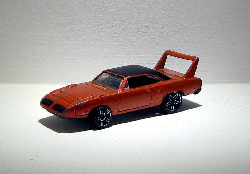 Plymouth superbird de 1970 (Hotwheels 2006)
