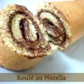 Roul au Nutella 