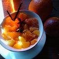 Salade aux deux oranges et au caramel