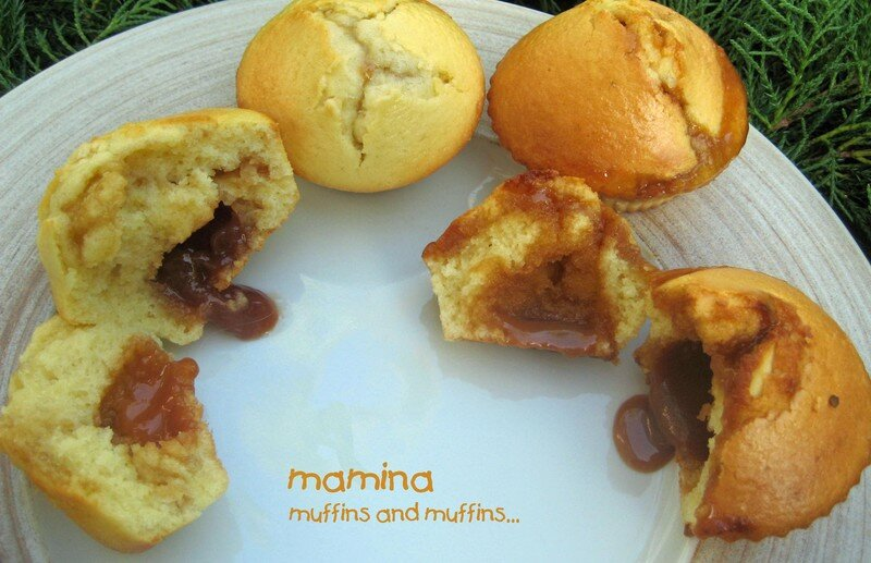 muffins au coeur coulant