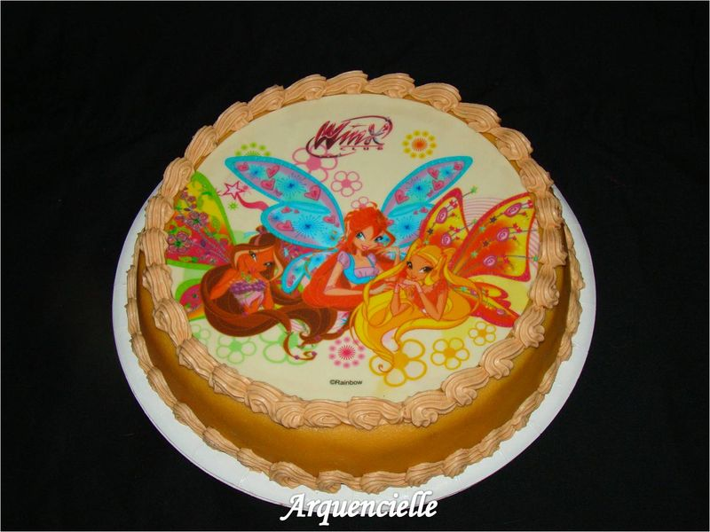 decoration gateau winx