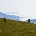 Les monts du Baretous et de la Soule émergent des nuages...