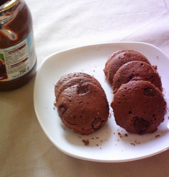 cookies au Nutella au micro onde