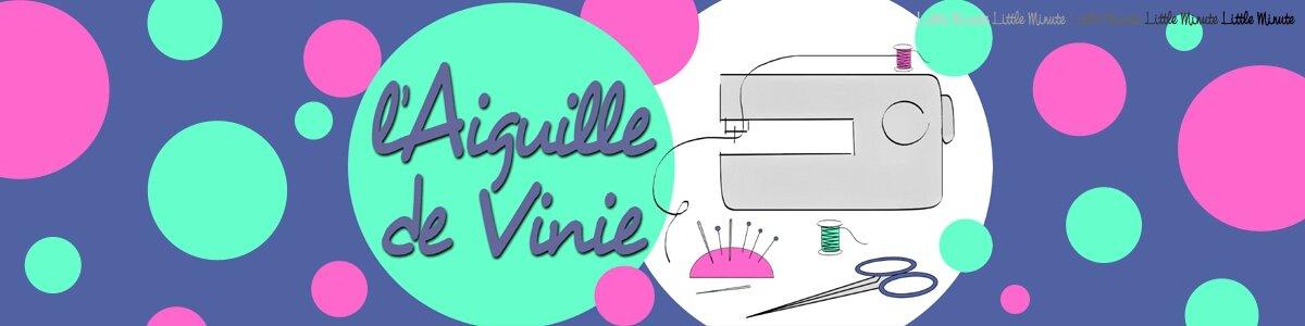 """Illustration pour le site de couture """"L'Aiguille de Vinie"""""""