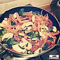 Sauté de légumes thaï