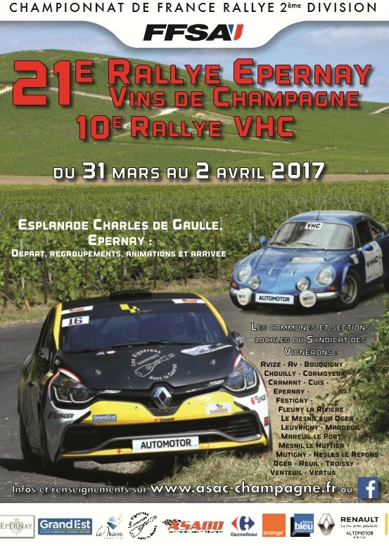Affiche Epernay 2017