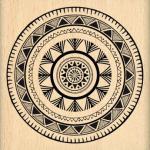 tampon-bois-cercle-ethnique