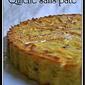 Quiche poireaux carottes sans pte...