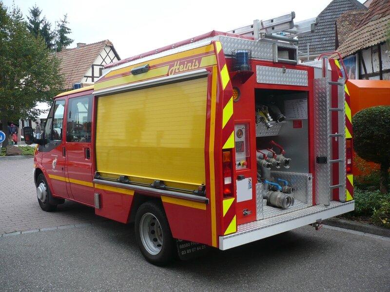 FORD Transit Véhicule Premier Secours et Incendie SDIS Bas-Rhin équipé par Heinis Lampertheim (2)