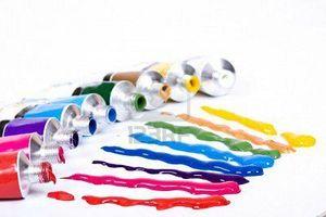 Idée cadeau de noël : peinture acylique