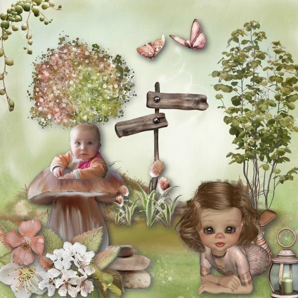 mélisande et le champignon