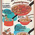 Spaghettis champignons