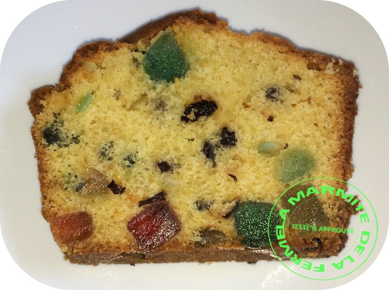 Cake aux fruits confits (8)