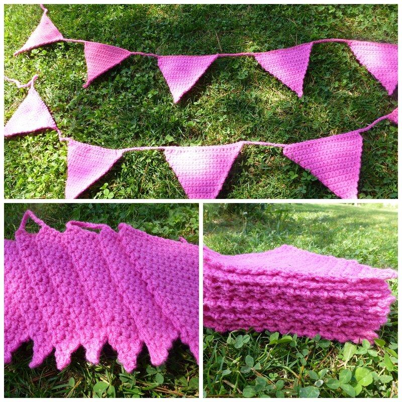 guirlande crochet