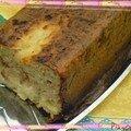 La quiche sans pâte au thon en forme de cake