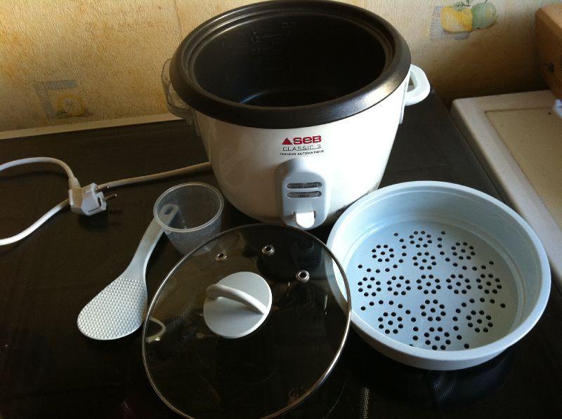 Cuiseur riz seb classic 2 recettes