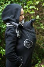 manteau de portage noir et gris laeti couture concours (4)