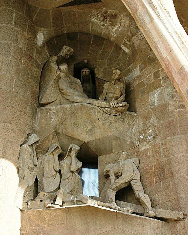 Barcelone SF Passion descente de Croix