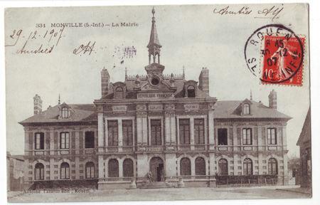 76 - MONVILLE - La Mairie