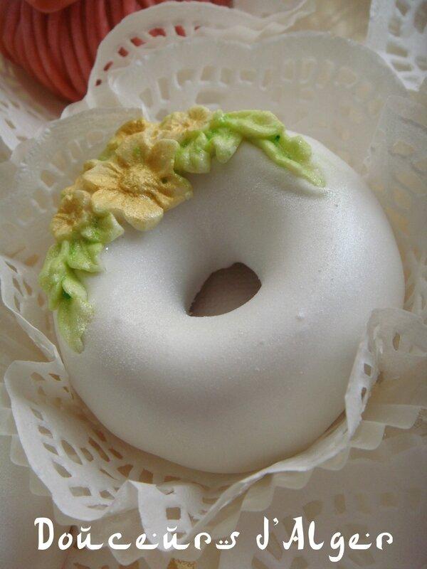 anneaux glacés aux amandes 3