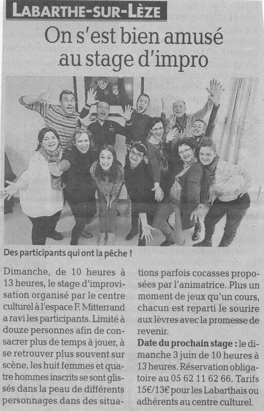 article impro