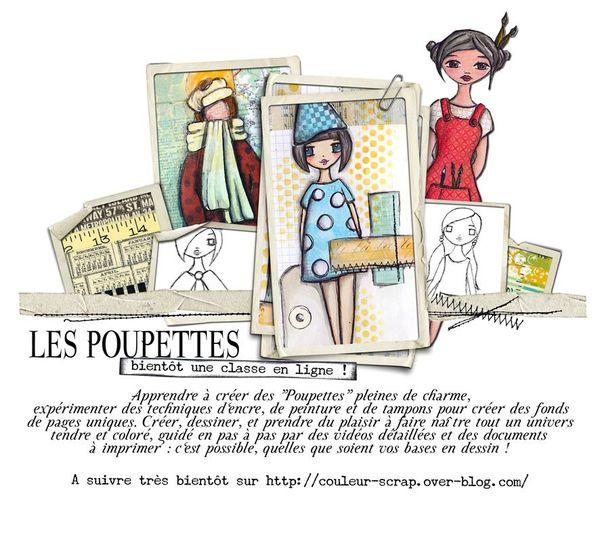 Classe en ligne Poupettes - l'affiche