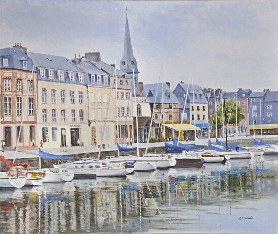 3 HU Honfleur port