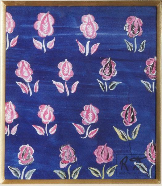 Dufy_Fleurs-roses-sur-fond-bleu