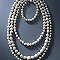 Necklace of 177 saxon pearls before 1734 from the vogtland waters