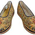 Chaussures de l'empereur bao dai.