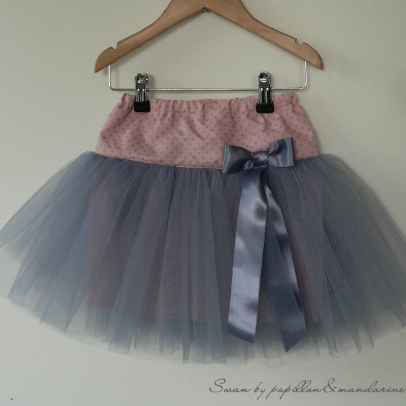 patron couture jupe tulle