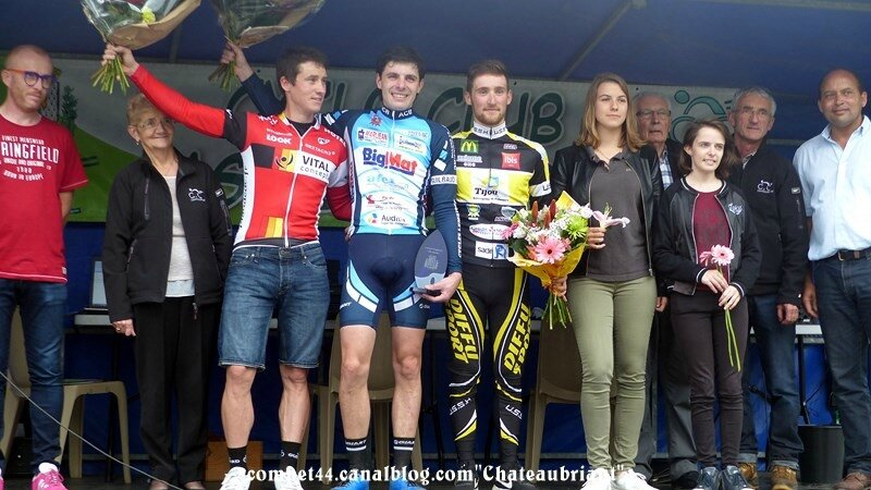 Chateaubriant cyclo-cross seniors espoirs 15 octobre 2017