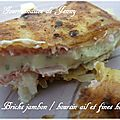 Brick jambon et boursin ail et fines herbes