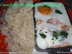 cassolette de saumon aux épinards