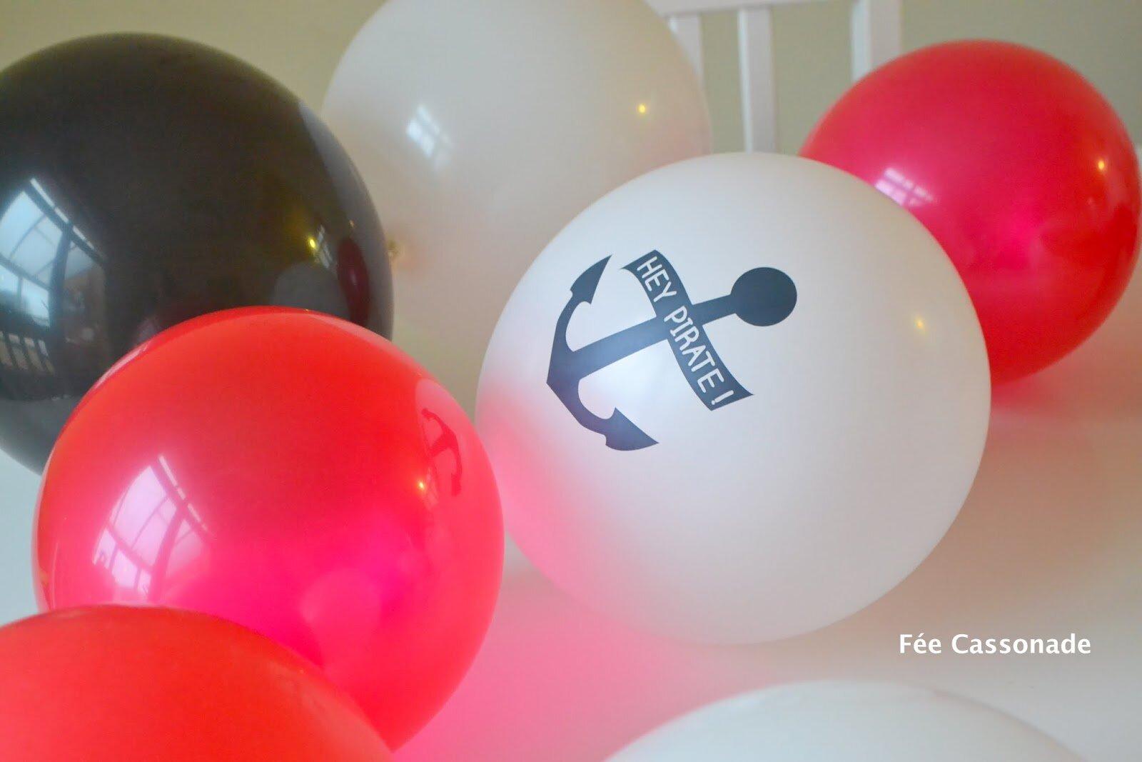 5 ans mon Chou! Tout pour un super anniversaire de pirates!
