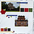 Des portes colorées dans la citadelle de Hué
