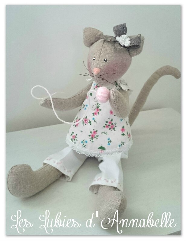 Chat Tilda shabby chic