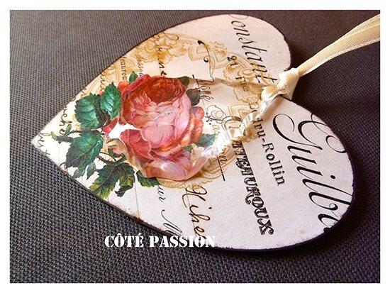 Avent 15 Côté Passion Coeur