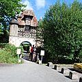 Château de crévecoeur en auge