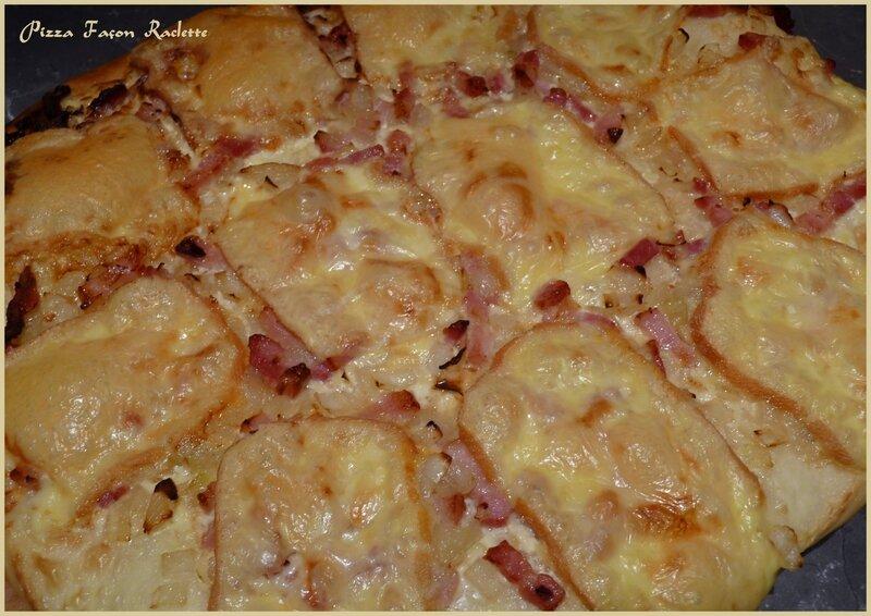 pizza façon raclette1