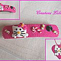 267 - Ensemble Hello Kitty rose