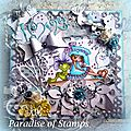 Ma carte dt pour paradise of stamps