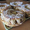 Paris-brest version cap pâtisserie