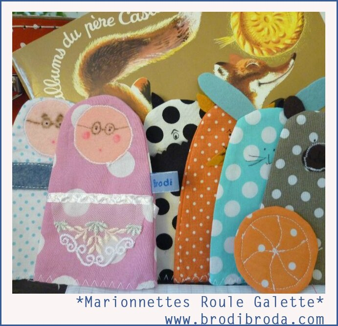 Brodi Broda-marionnettes personnages roule galette c4