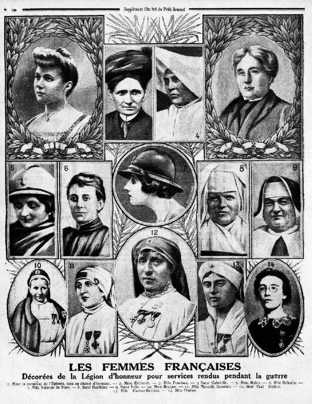 Le Petit Journal femmes 27 04 1919 remarquables